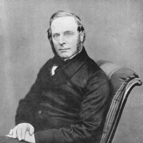 Portrait du botaniste Robert Fortune (1812-1880)