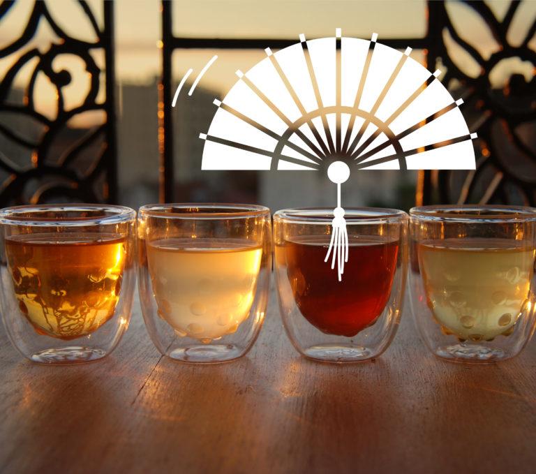 DiviniTHé : l'atelier de dégustation de thé pour découvrir les couleurs du thé grâce à une approche sensorielle ludique.