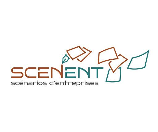 Logo de Scenent, société spécialisée dans le conseil aux entreprises, la formation, l'innovation et l'édition