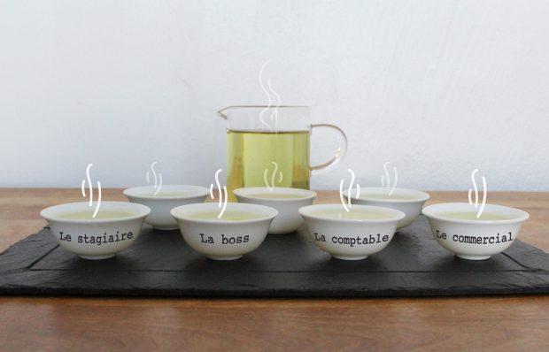 DiviniThé tasses de thé du team building théinéding original autour du thé